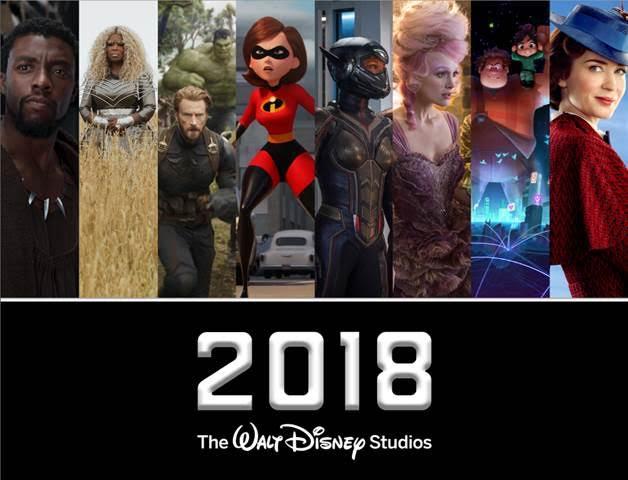 Disney 2018 Movies